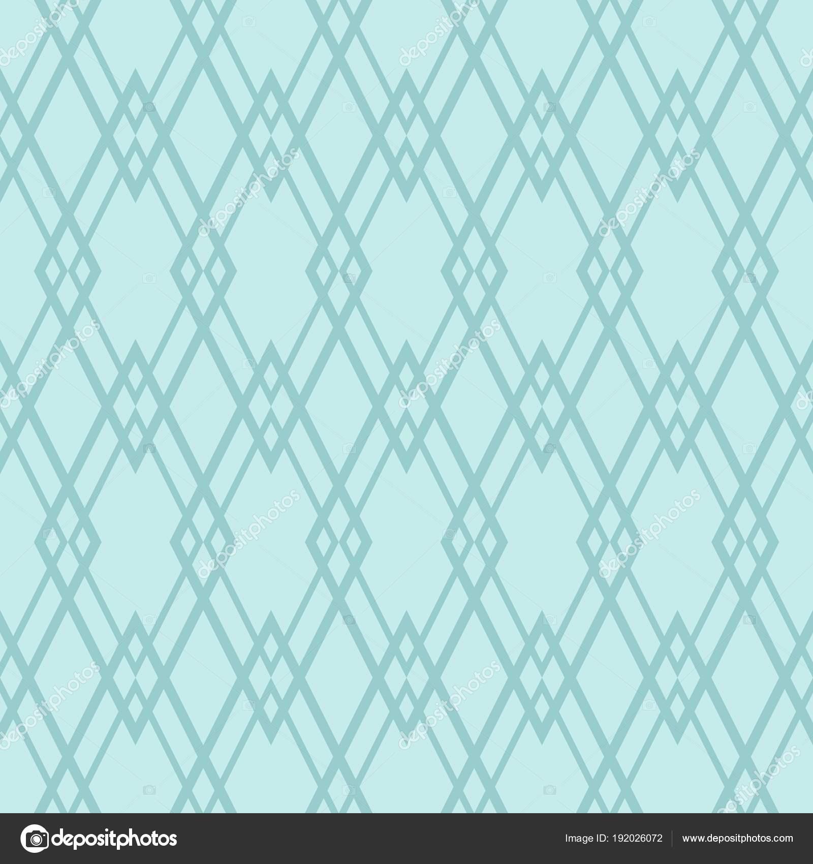 Tile Vector Pattern Mint Green White Wallpaper Background Stock
