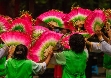 Traditional Dance Festival in Chengdu China