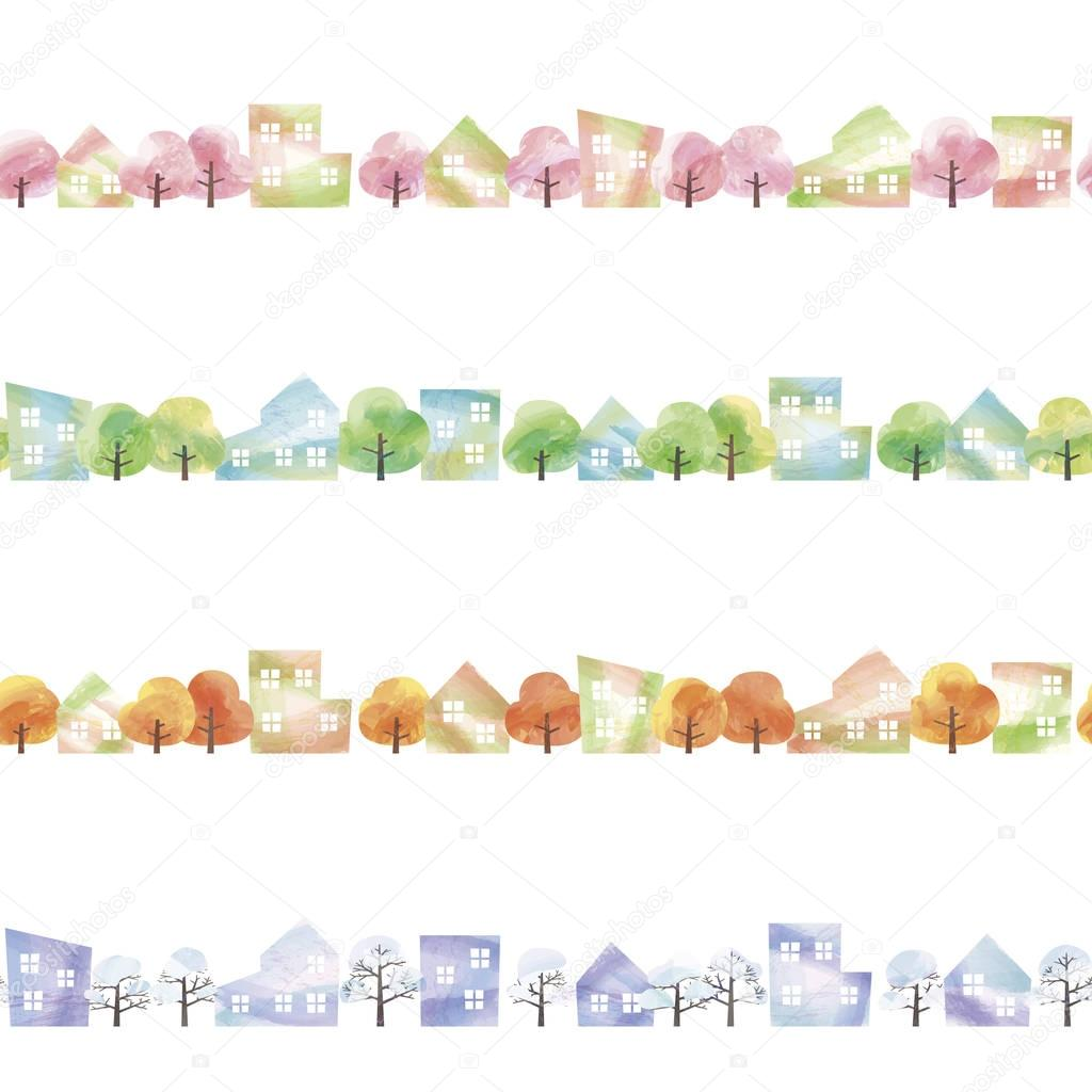 four seasons of town