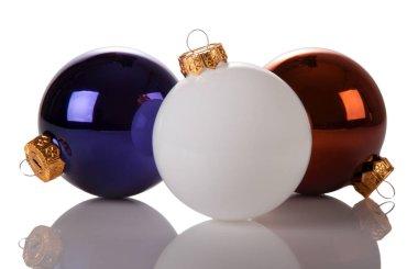 Chtastmas balls glass