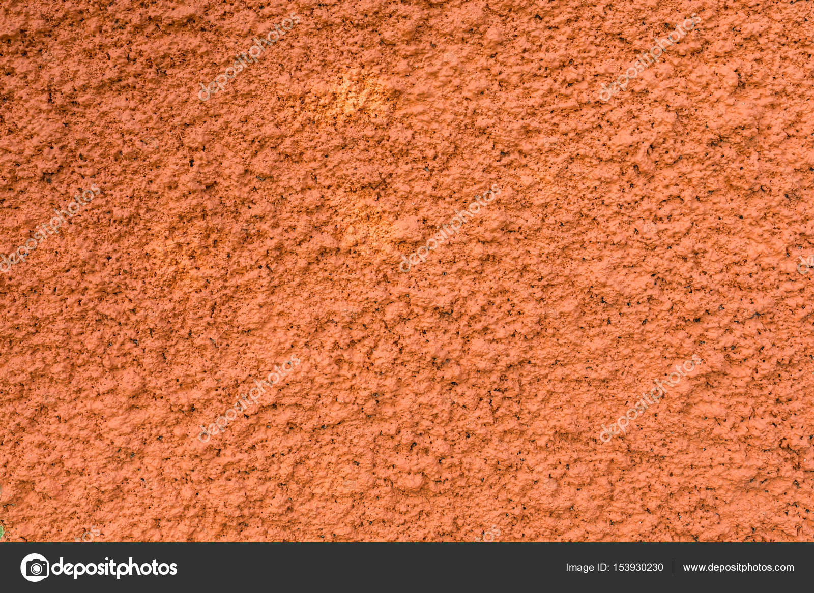 The orange color wall paint texture background — Stock Photo