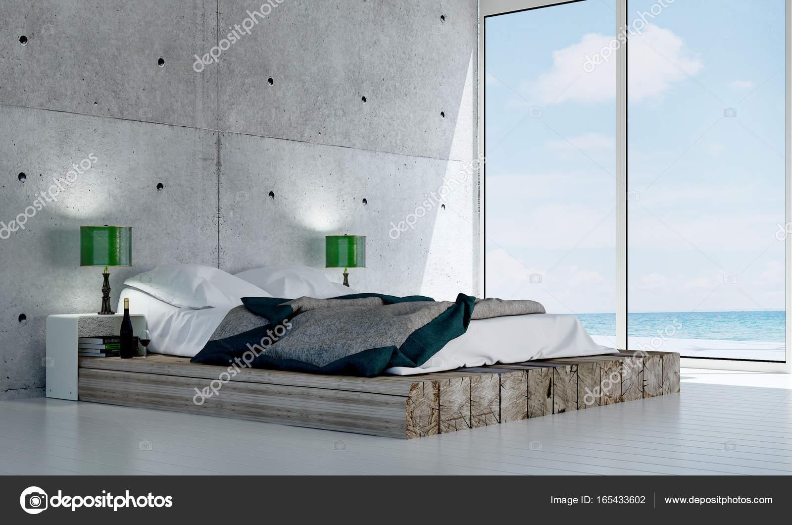 Camera Da Letto Con Struttura In Legno E Bauli Interior Design : La struttura della parete di interior design e cemento