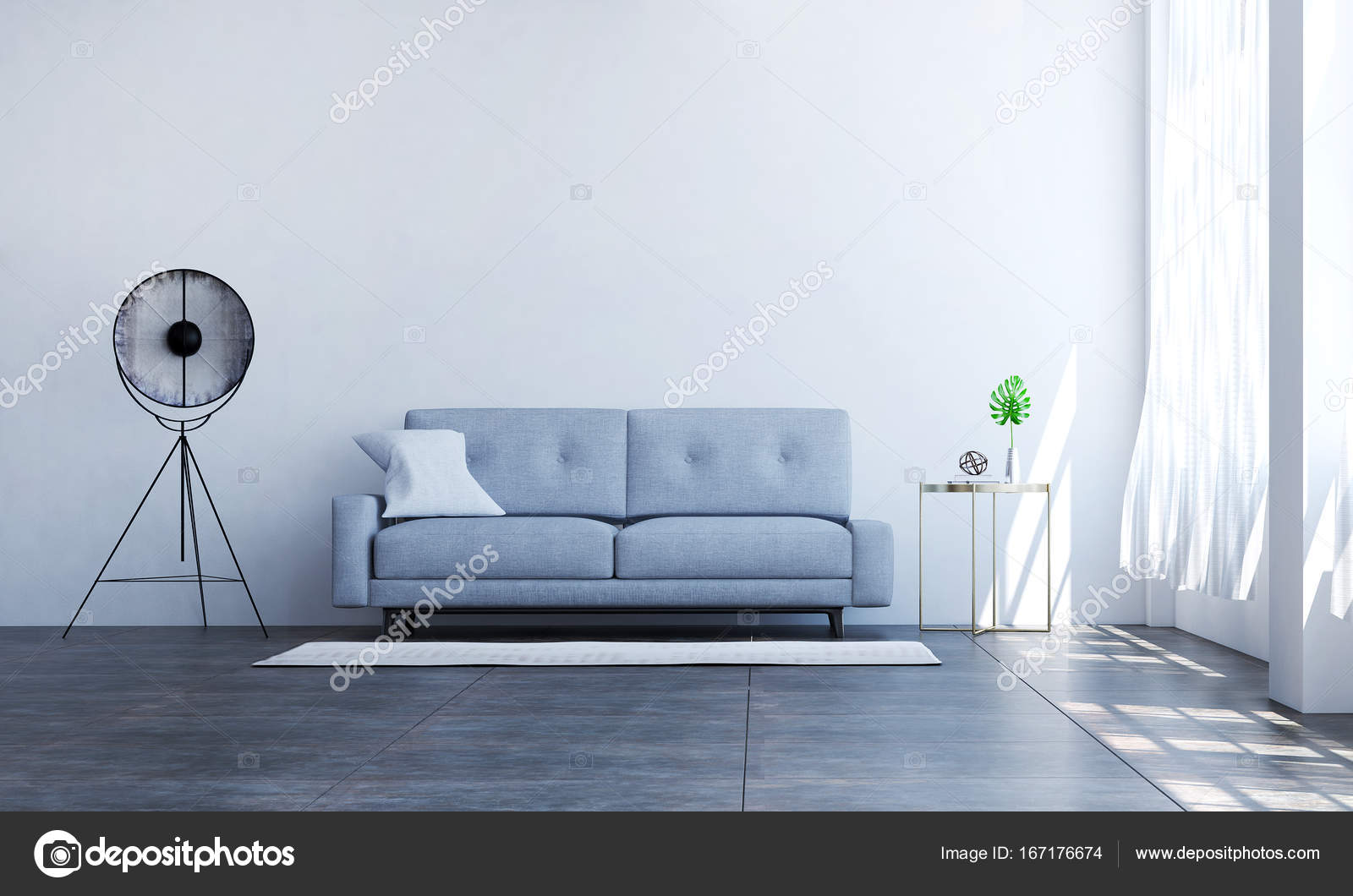Cool lounge woonstijl