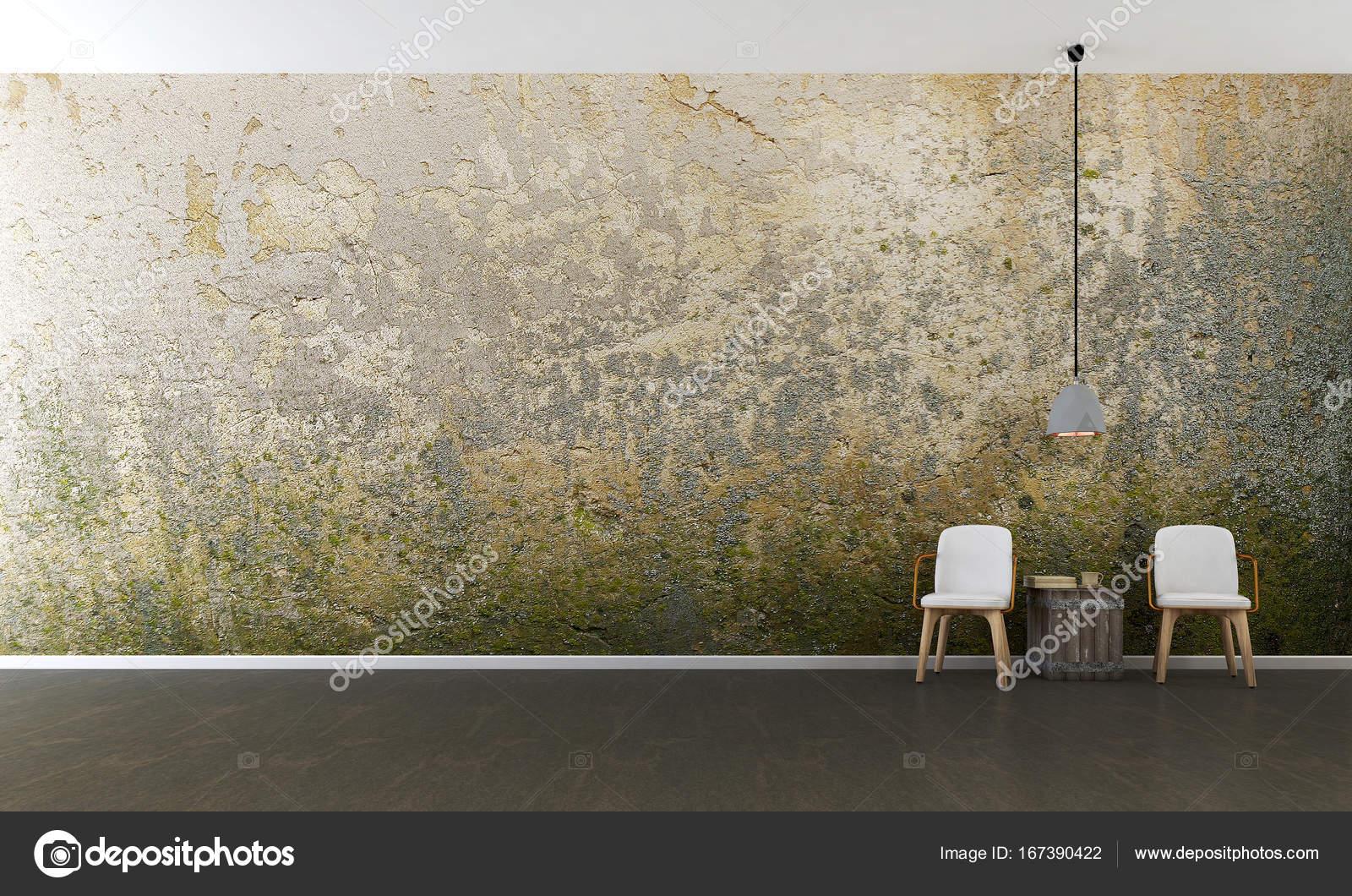 Die Innenausstattung des minimal Lounge Chars und Wohnzimmer und ...