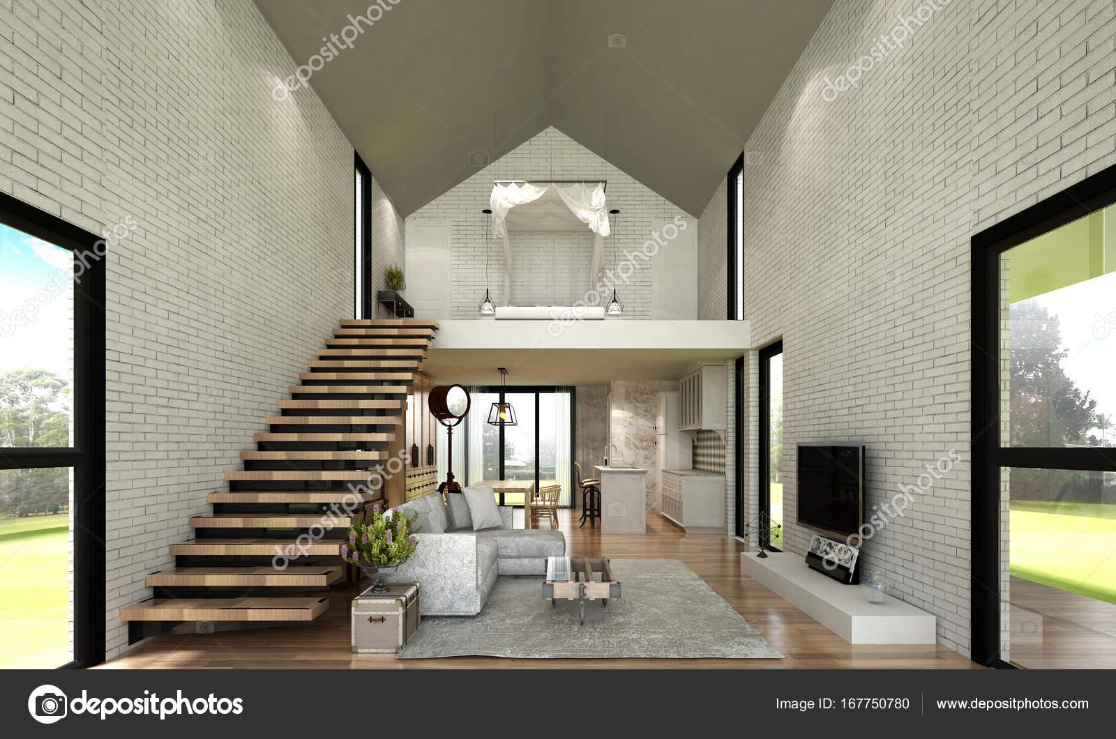 Die Innenausstattung Des Minimalen Wohnzimmer Und Holz Wand Textur
