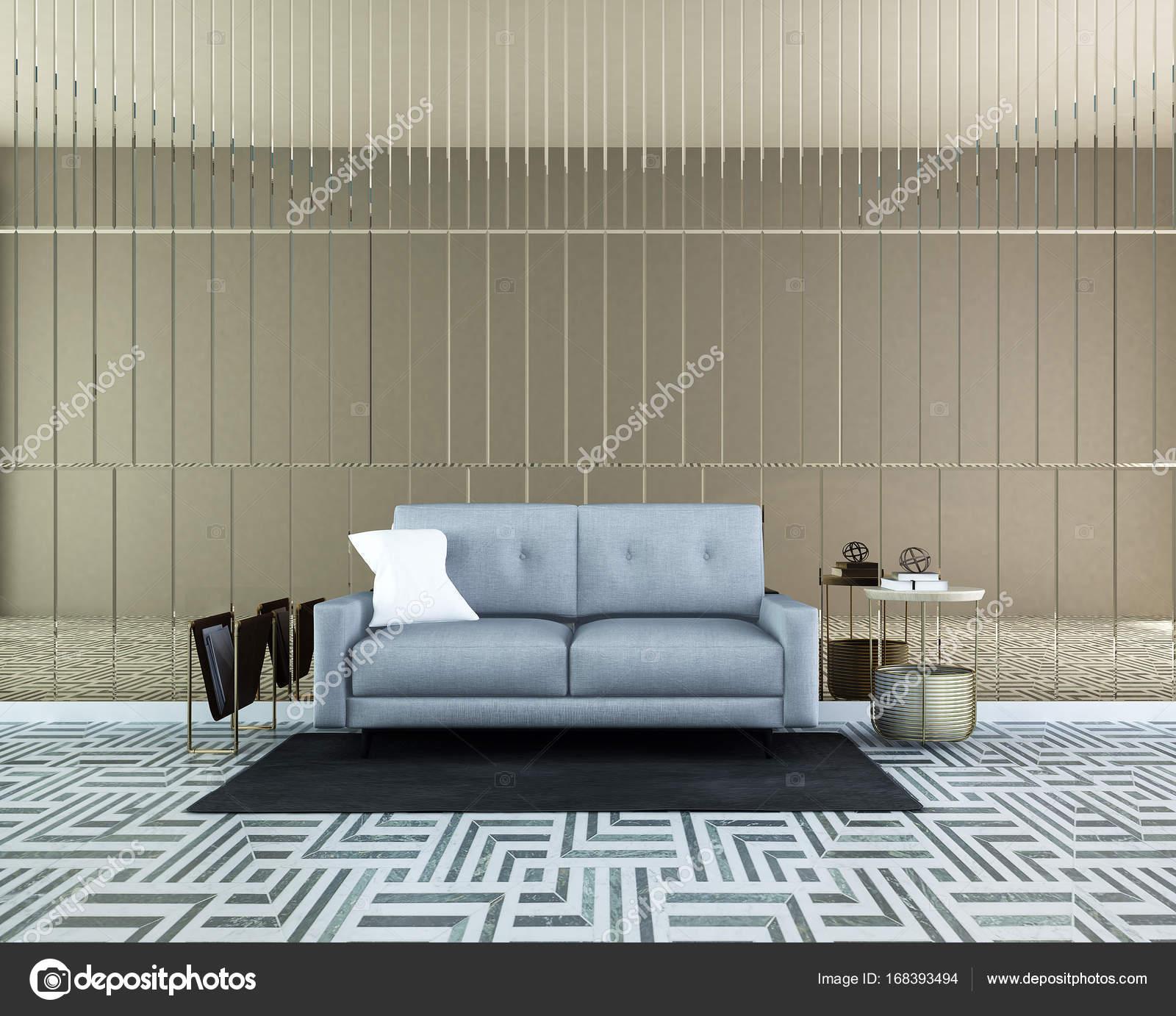 Innenarchitektur Konzeptidee des Luxus Wohn- und Wand-Muster ...