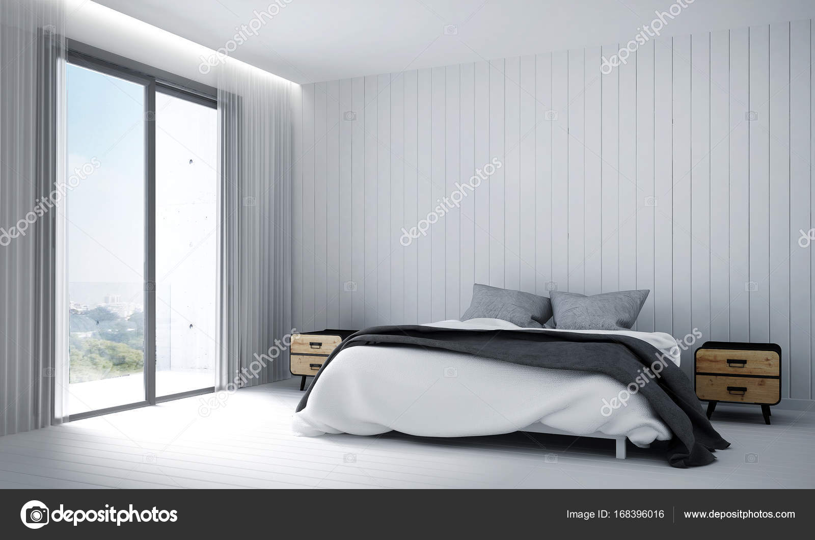design dintrieur de rendu 3d chambre image de teeraphan