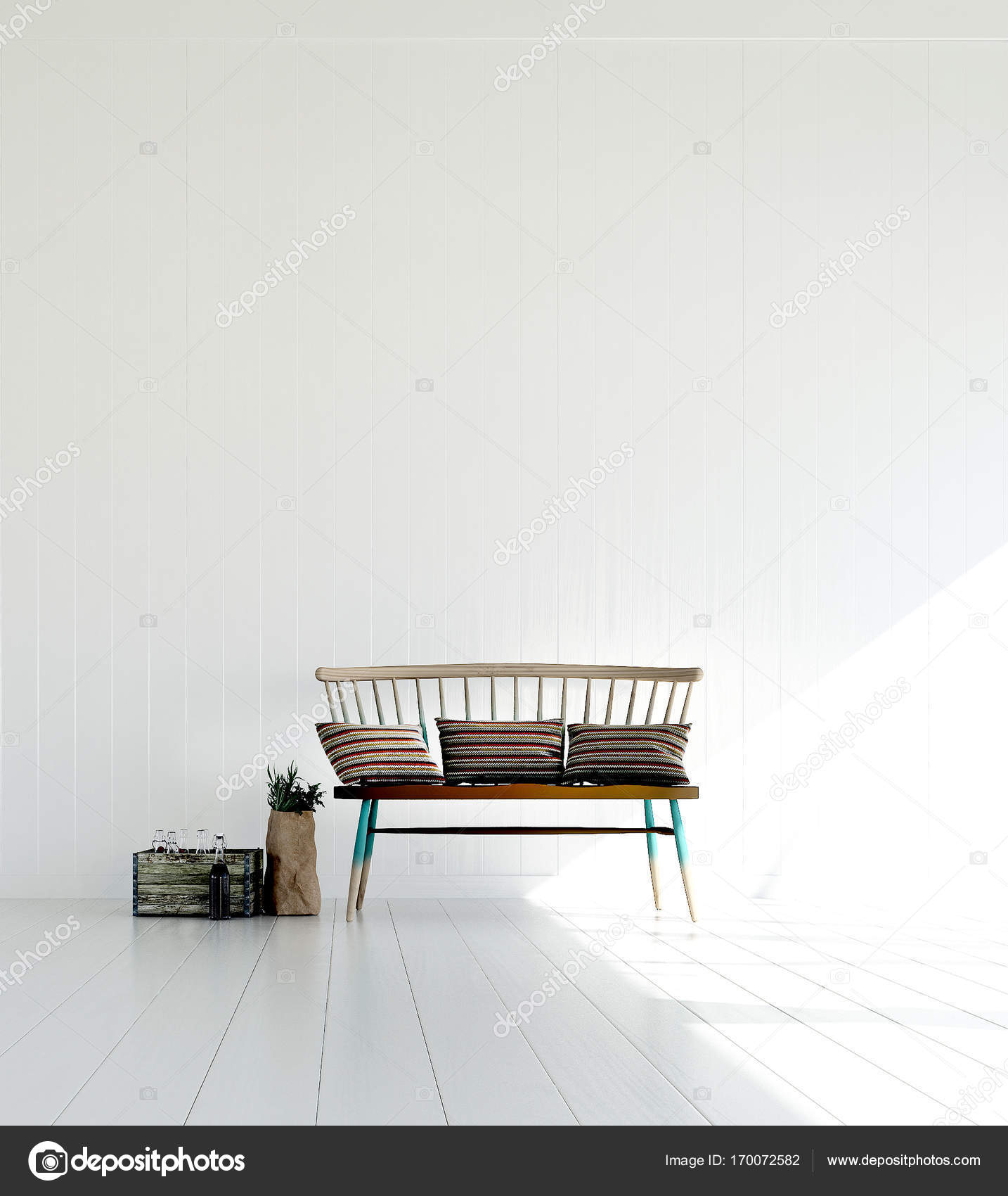3D Rendering Innenarchitektur Lounge Und Wohnzimmer U2014 Foto Von Teeraphan