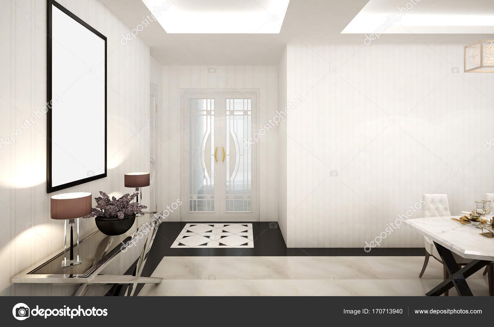 3D Rendering Innenarchitektur Idee Von Wohnzimmer U2014 Foto Von Teeraphan