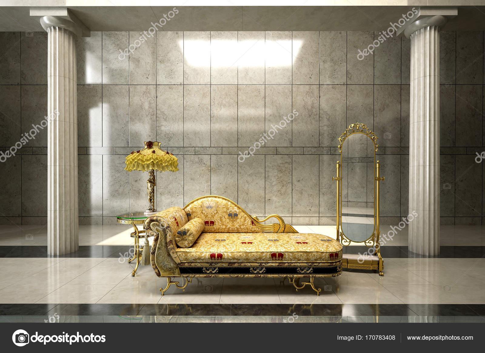 3D Rendering Innenarchitektur Konzeptidee Des Wohnzimmers U2014 Foto Von  Teeraphan