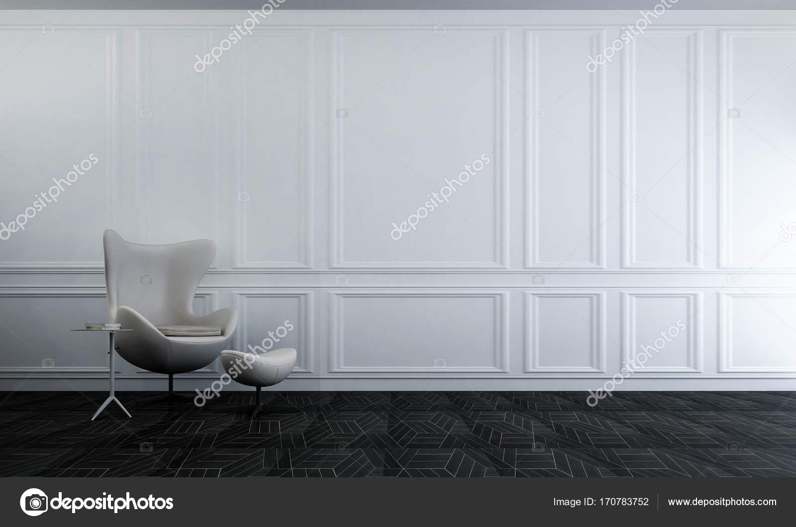 Hij interieur van woonkamer en beton muur textuur en moderne lounge ...