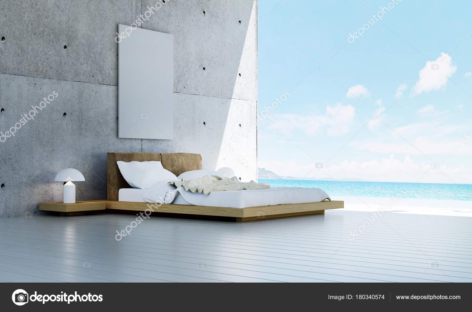 Das Interieur Design Idee Konzept Der Moderne Schlafzimmer Und ...
