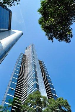 Eureka Tower in City of Melbourne Australia