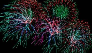 Majestic Fireworks background
