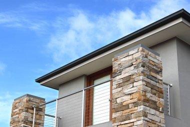 Modern architecture exterior details in Australia