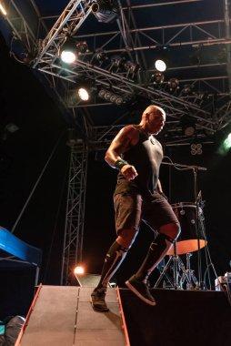Bergamo, Italy - August 04, 2018: The Brazilian heavy metal group SEPULTURA performs at METAL FOR EMERGENCY in Filagosto Festival of Filago (BG). Brambilla Simone Live News photographer