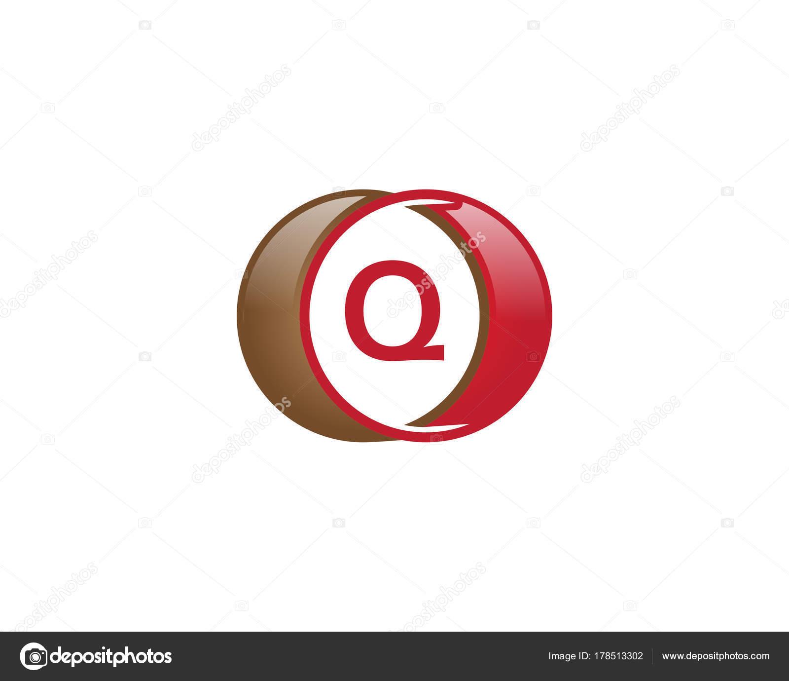 e09bf617e logotipo de círculo de letra q — Vetores de Stock © meisuseno gmail ...