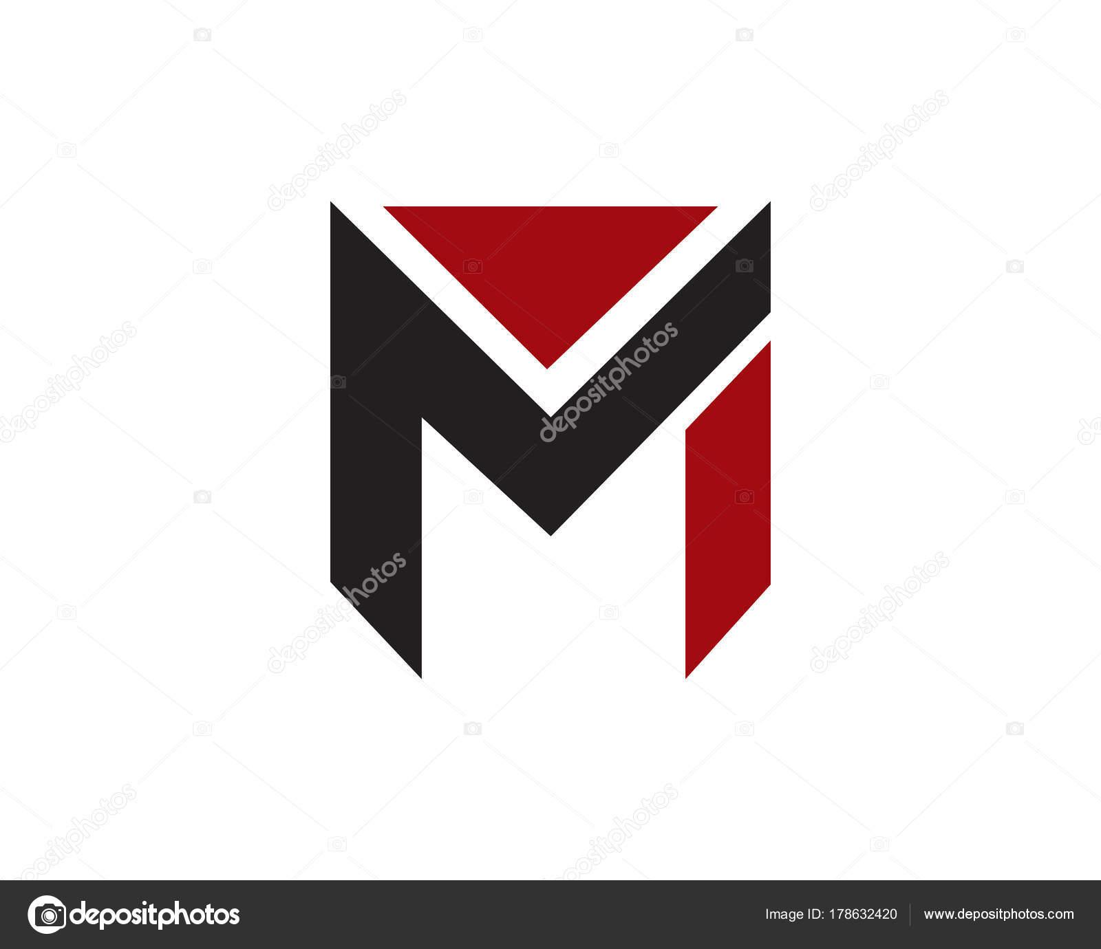 Szablon Logo Litera M Grafika Wektorowa Meisuseno At Gmailcom