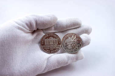 Silver coins Vienna Philharmonic Orchestra
