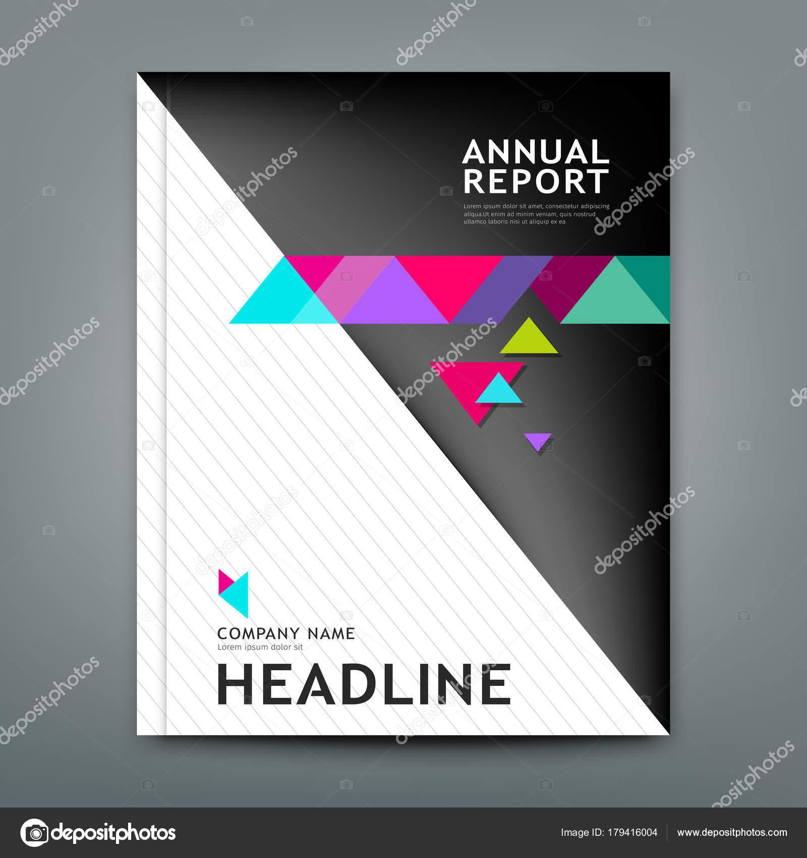 Diseño Informe Anual Cubierta Plantilla Geométrica Diseño Diseño ...