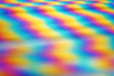 close-up abstract photo of colored rainbow straws background