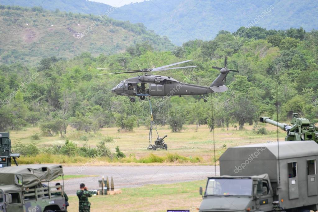 Thai Artillery military – Stock Editorial Photo © chatchai