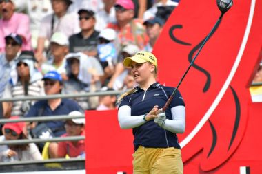 Charley Hull in Honda LPGA Thailand 2017