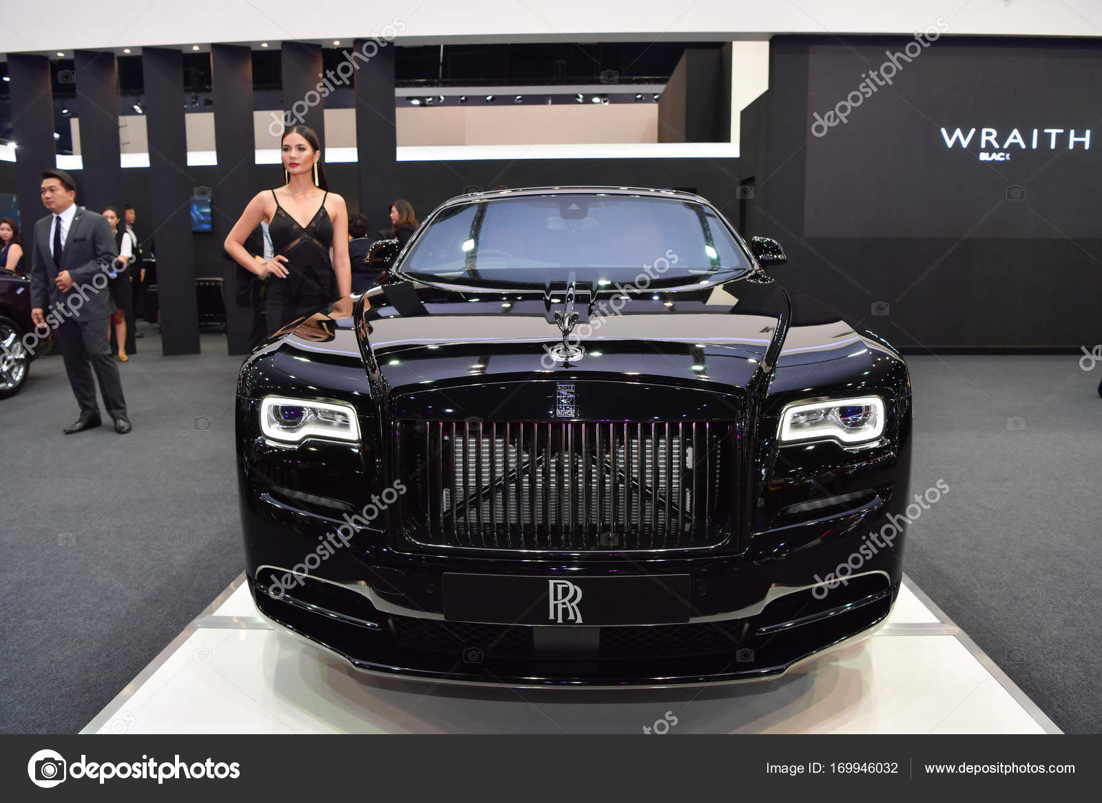 rolls royce red wraith car stock editorial photo. Black Bedroom Furniture Sets. Home Design Ideas