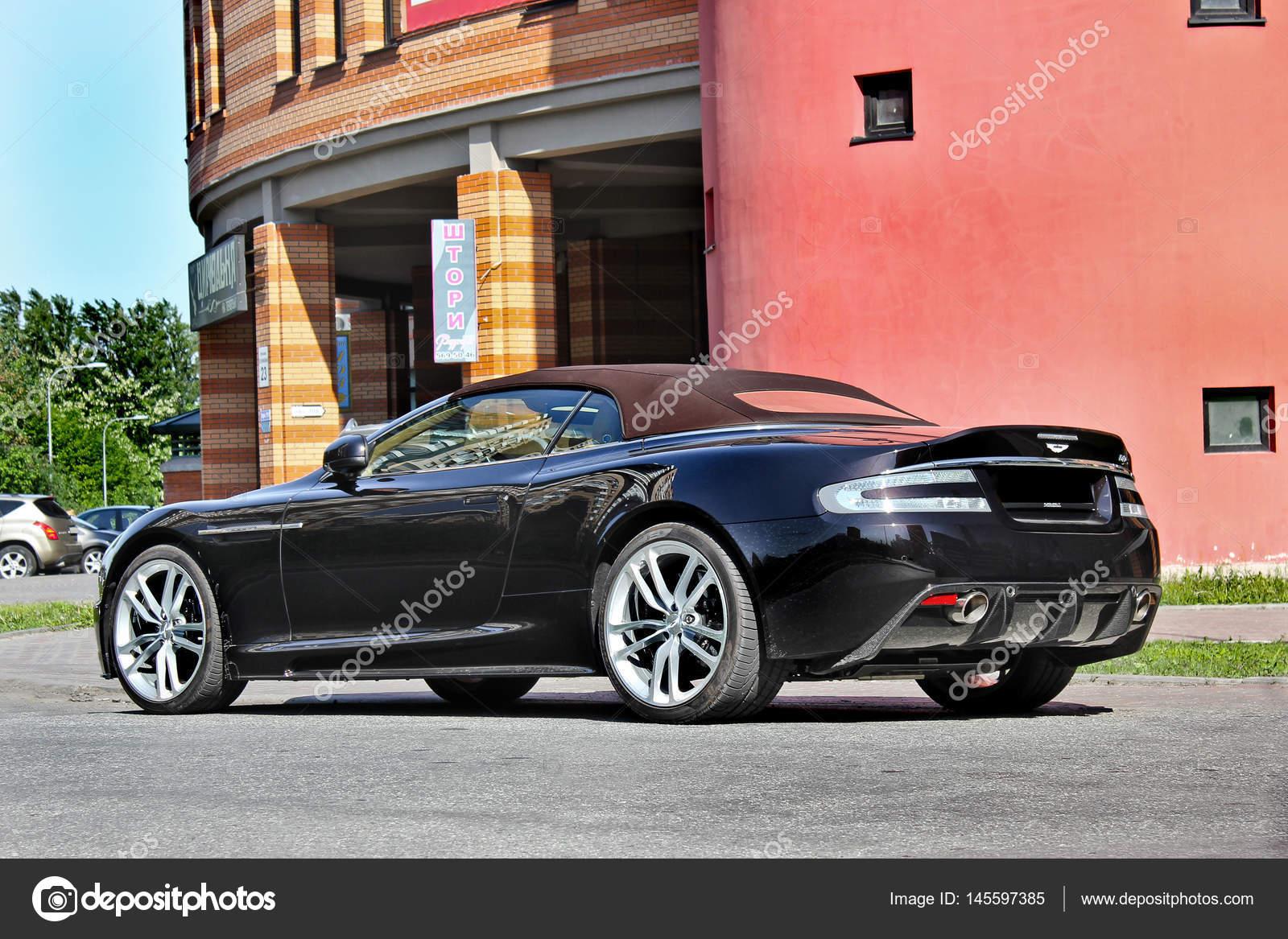 Kiev Ukraine September 20 2014 Aston Martin Dbs V12 Volante Cabriolet The Luxury Convertible The Color Of Chocolate Editorial Photo Stock Editorial Photo Amor7 145597385