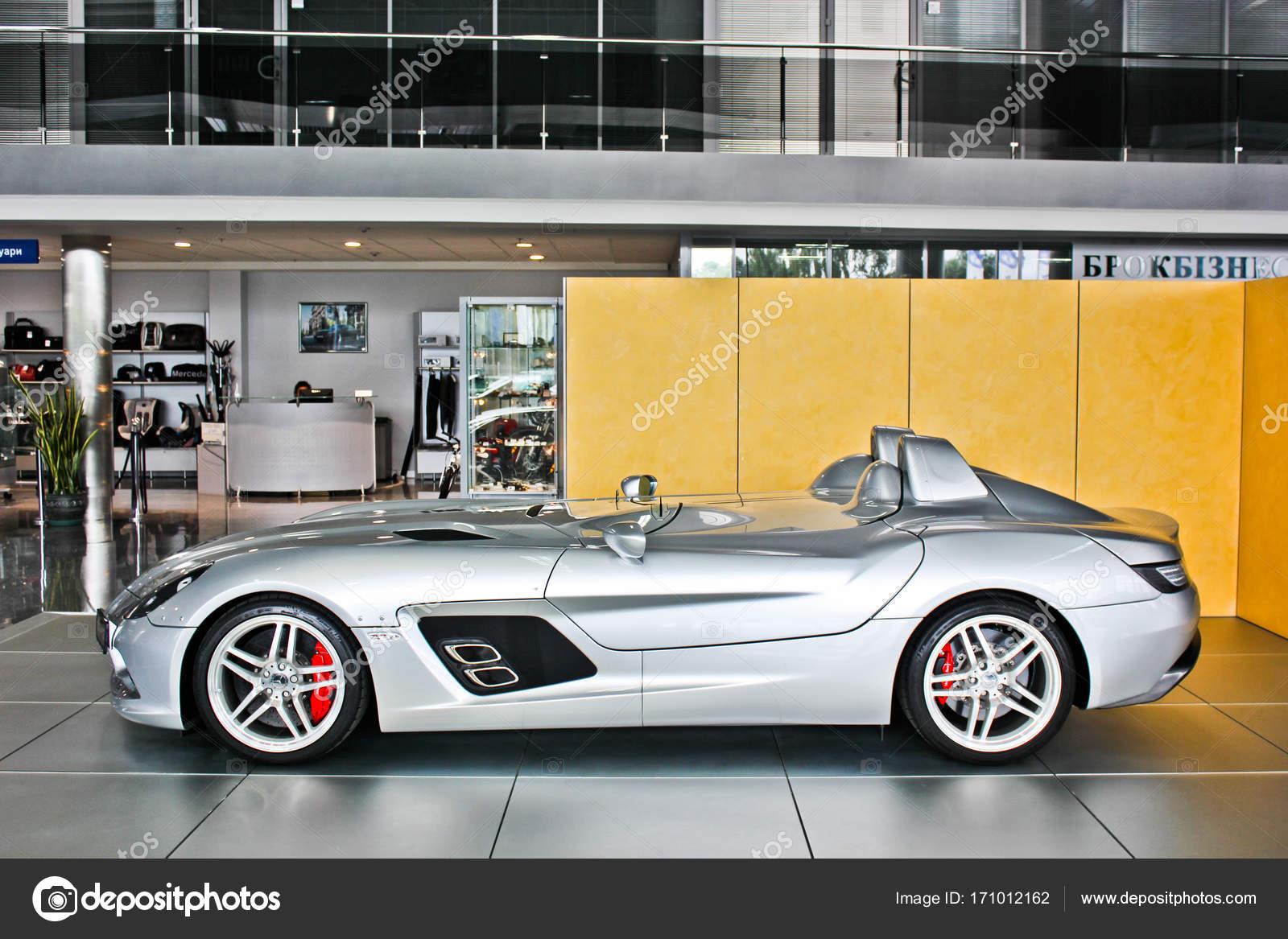 Mercedes Benz SLR McLaren Stirling Moss. AMG
