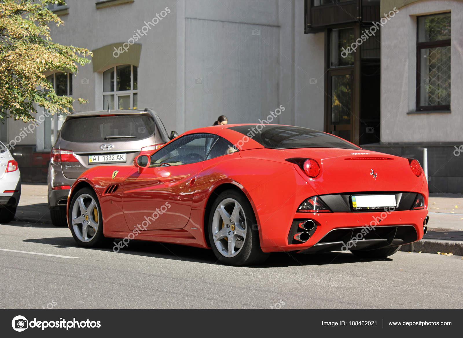 Exclusive Private Supercar Center City Ferrari California Rear View