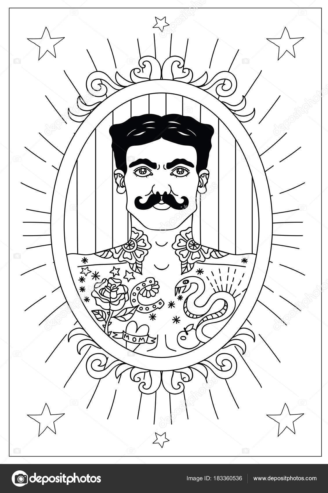 Colección de ilustraciones de circo vintage — Vector de stock ...
