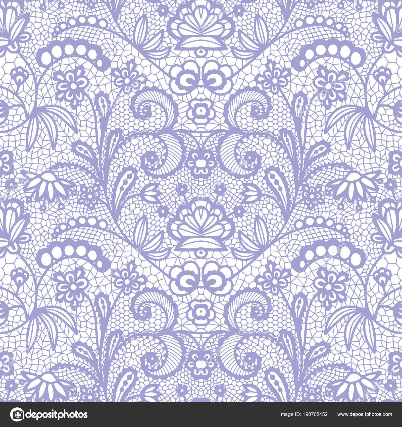 Schnürsenkel nahtloses Muster mit Blumen — Stockvektor © comotom0 ...