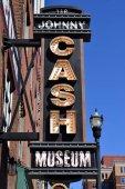 Johnny Cash Museum Zeichen