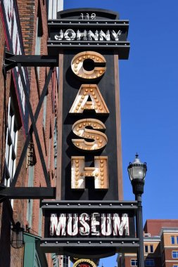 Johnny Cash Museum Sign