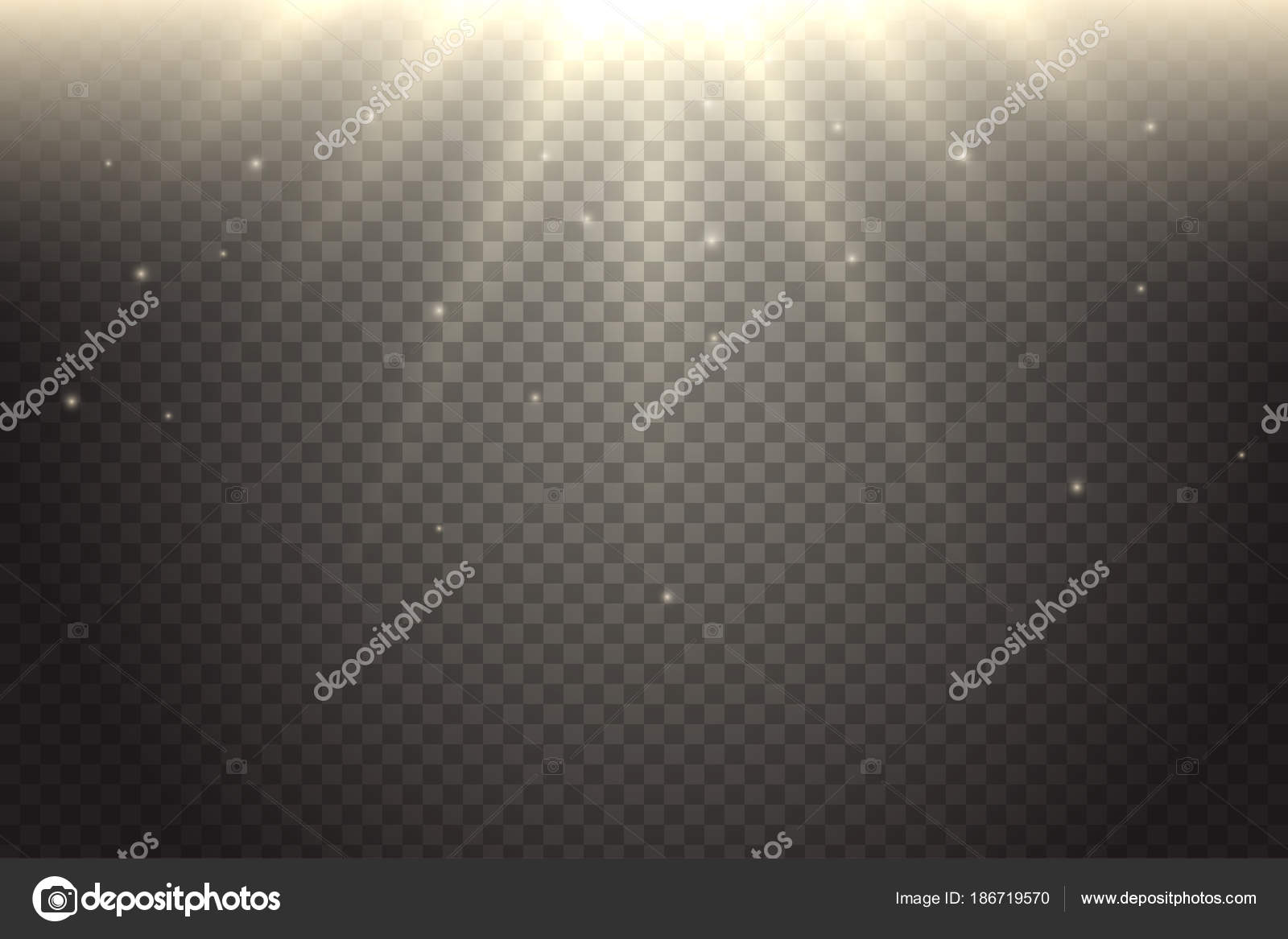 Realistic Soft Sunshine Light Effect Vector Sunlight Isolated On Transparent Background Warm Glow Summer Sun Rays Decorative Element For Your Design