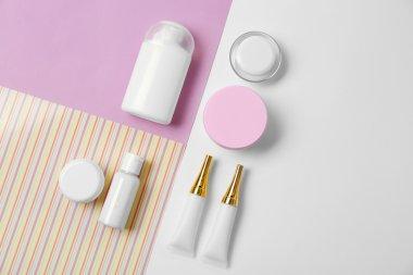 Cosmetics spa mock-up