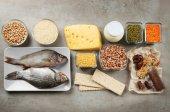 Potravin s vysokým obsahem bílkovin