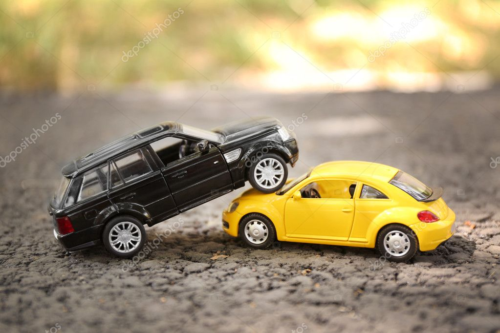 Close Up Of Toy Cars Crash Stock Editorial Photo Belchonock