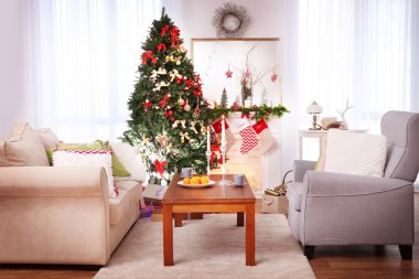 Cozy Christmas interior