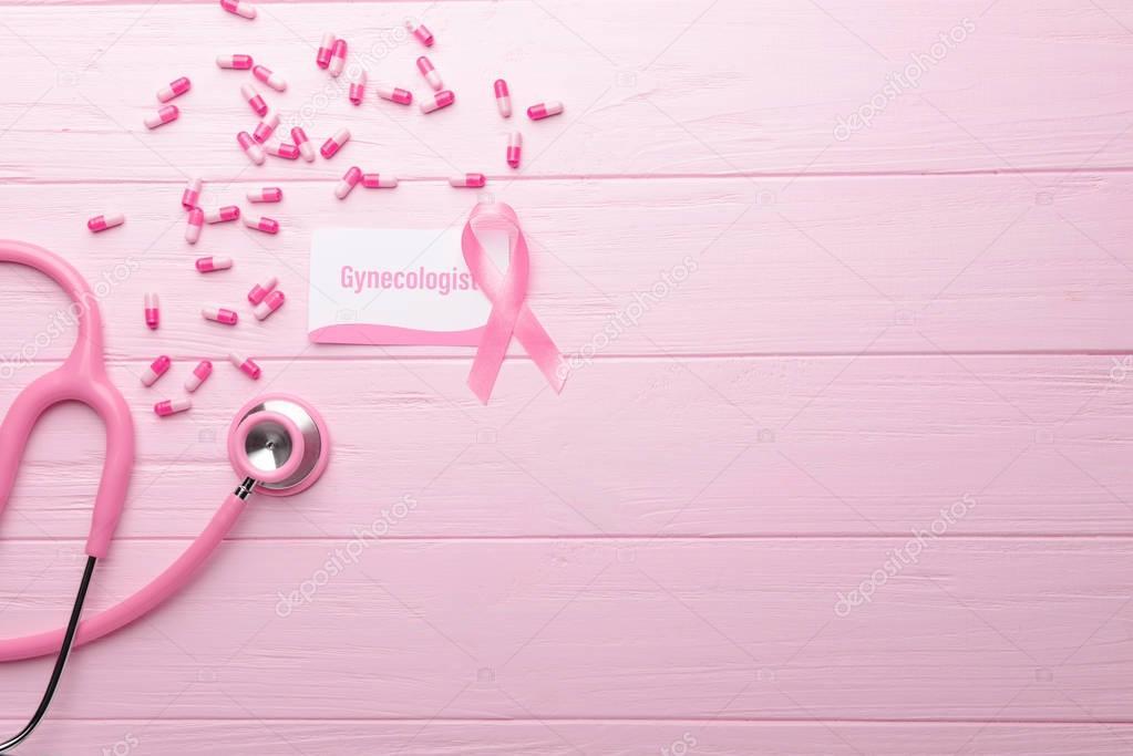 Carte De Visite Avec Mot Gynecologue Images Stock Libres Droits