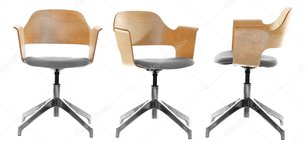 Collage de sillas de oficina moderna — Fotos de Stock © belchonock ...