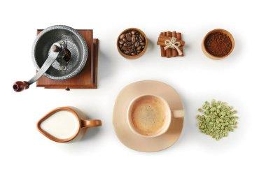 Things for preparing coffee