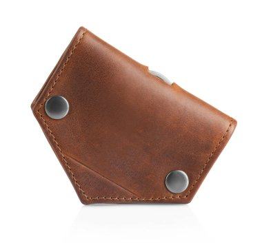 Leather wallet for man
