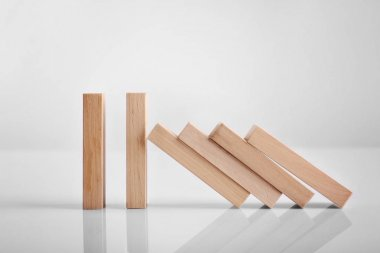 Dominoes tiles isolated