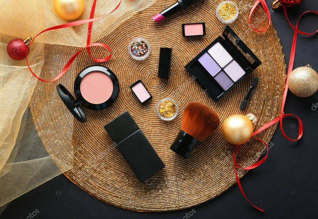 Colorful makeup cosmetic
