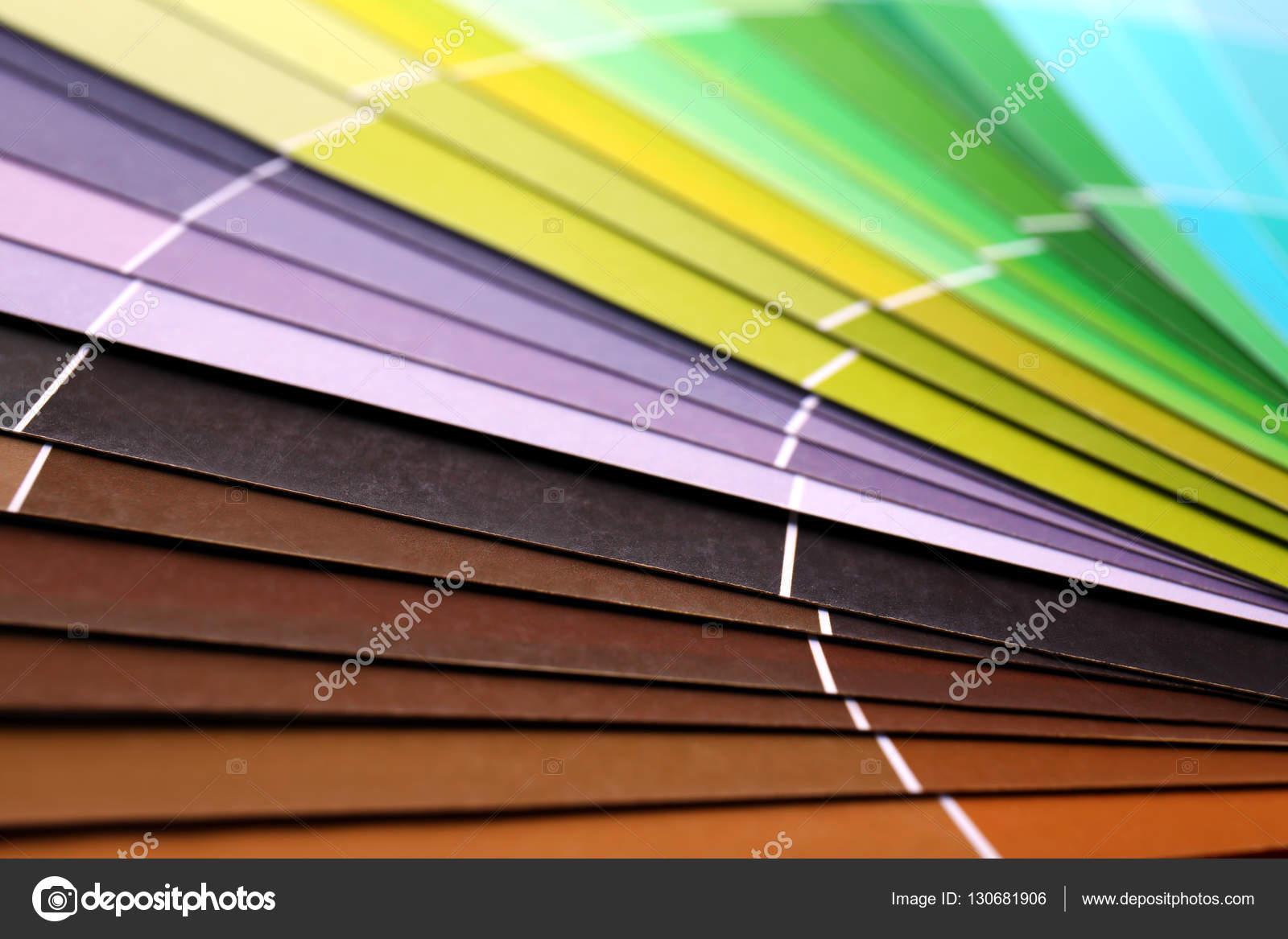Libro de muestras de color — Foto de stock © belchonock #130681906