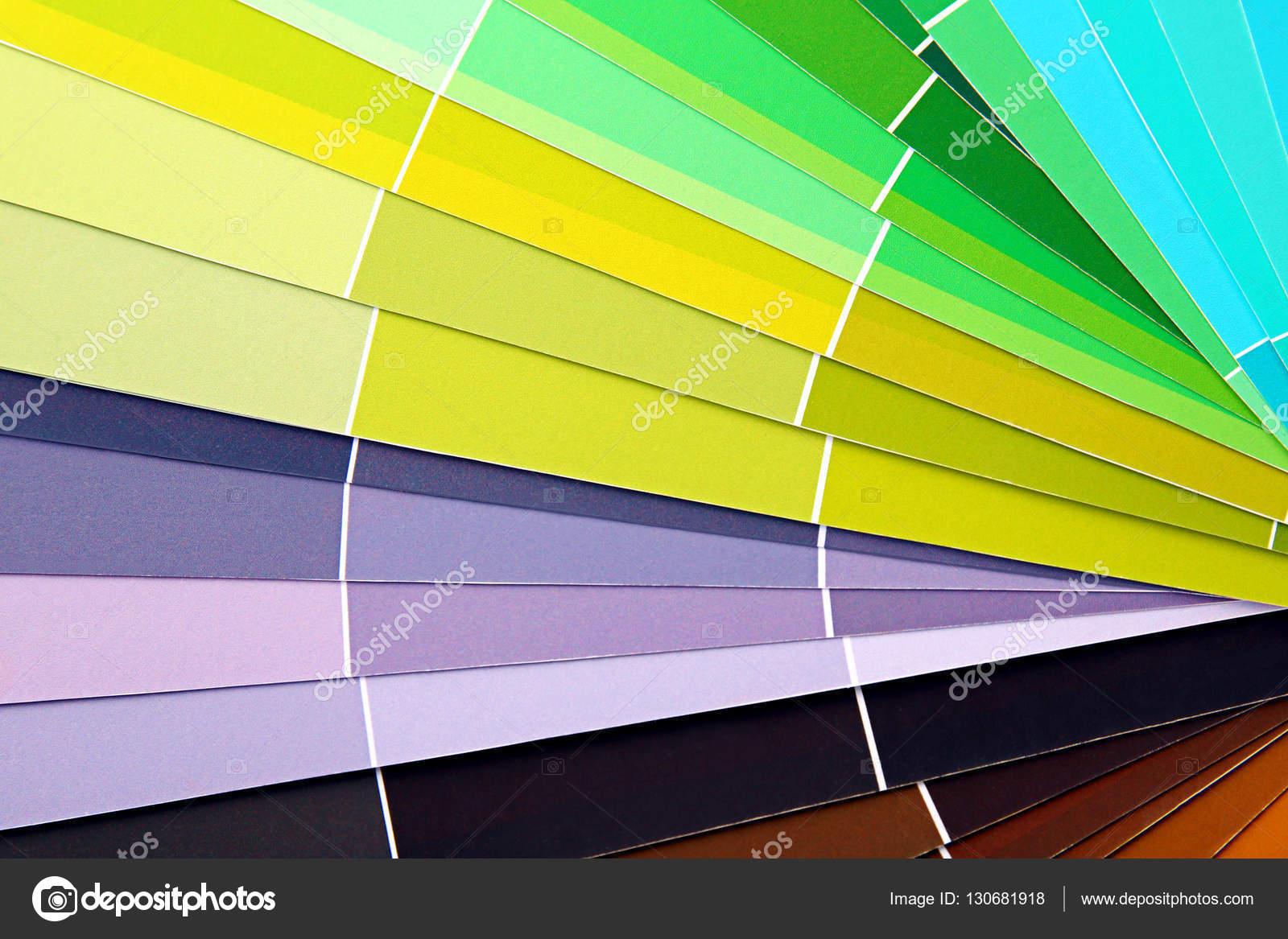 Libro de muestras de color — Fotos de Stock © belchonock #130681918