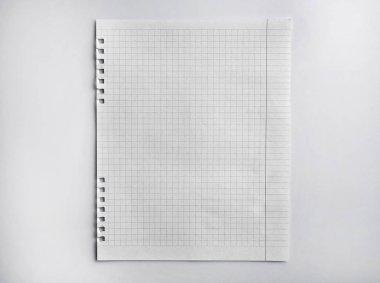 Paper sheet texture