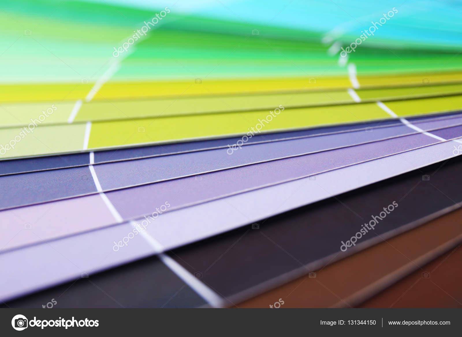 Farbfelder Farbbuch — Stockfoto #131344150